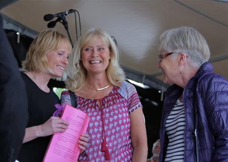 Clara Special priset tilldelades Bittan och Lotta Broms för deras satsning på nya lokaler för Broms café i anslutning till nya Claras torg, vilket gett Årjängs centrum ett rejält lyft.