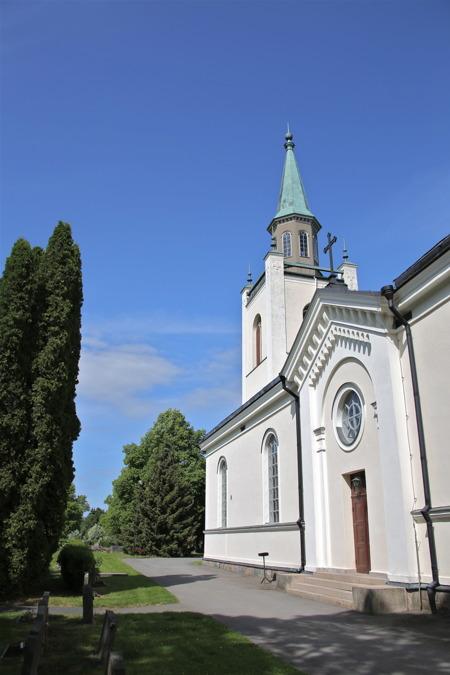 Firandet startade i Silbodals kyrka.