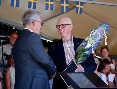 Årets Ungdomsledarstipendium tilldelades Göran Nilsson från Båtklubben Rävarna i Töcksfors, för hans värdefulla gärning som ledare i Töcksfors seglarskola de senaste nio åren.