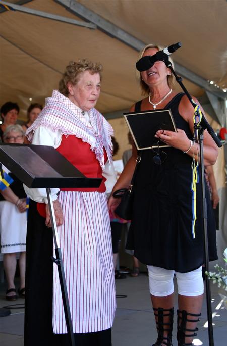 Årets Kulturpris tilldelades Gunvor Westby från Västra Fågelvik, för hennes stora kulturgärning.