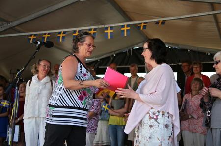 Årets pris Claras Special tilldelades Helen Börjesson, som driver Waterside Restaurant i Töcksfors.