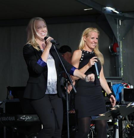 Anette Lövtangen och Marita Elson.