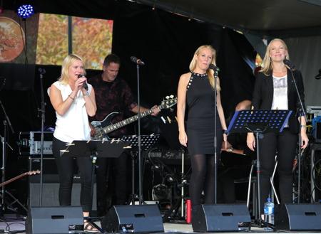 Maria Ek, Marita Elson och Anette Lövtangen.