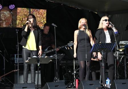 Lisa Kihlgren,Marita Elson och Anette Lövtangen.