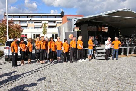 Team Westra Wermlands Sparbank - värdar för den stora föreningsdagen.