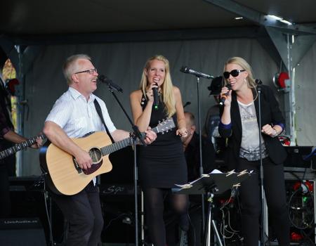 Rikard Ohlin, Marita Elson och Anette Lövtangen.