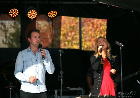 Johannes Axelsson och Alexandra Unge.