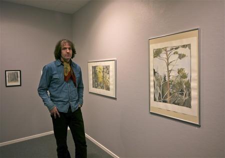 Galleri Passagen - Konstnär Mattias Rossipal från Solna men även boende i Höglian Årjäng skapar verk i Akvarell.