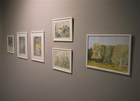 Galleri Passagen - Akvarellmålningar av konstnär Mattias Rossipal.