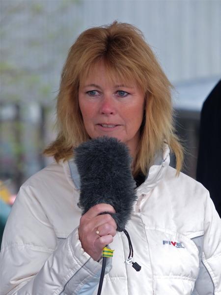 Annelie Pettersson VD/Projektledare i Årjängs Nät AB