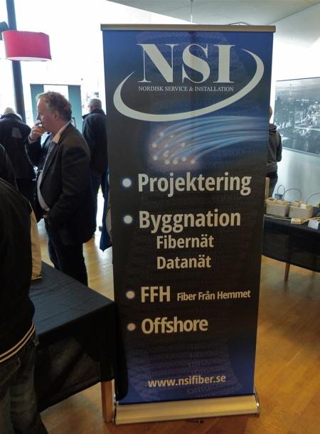 NSI Nordisk service & installation fanns på plats.