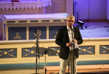 Owe Lindström från kommunen tackade de som tackas bör, för ett lyckat genomförande av Allsköns Musik 2014.