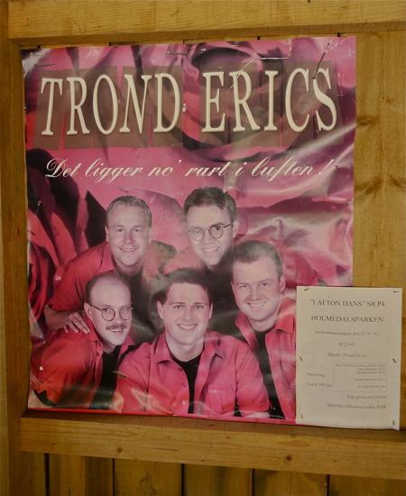 rond Erics har spelat i Holmedalsparken.