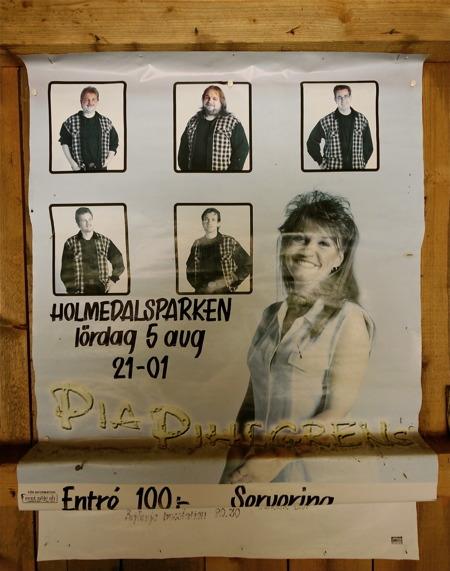 Pia Pihlgrens har spelat i Holmedalsparken.
