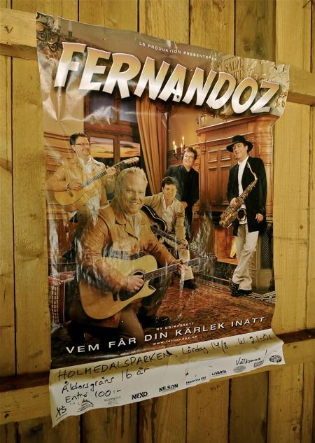 Fernandoz har spelat i Holmedalsparken.