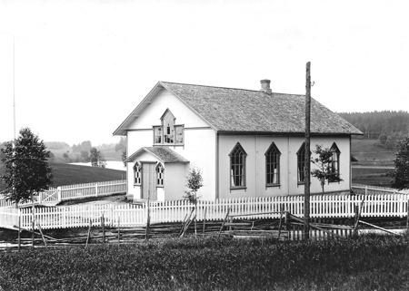 Håns Missionshus i början av 1900-talet. Foto: Brynolf Söderblom.