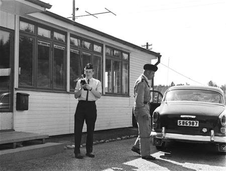 Tullstationen i Hån. Foto: okänd / kopia Bengt Erlandsson.