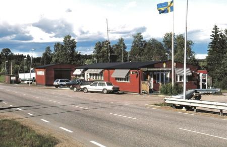 Tullstationen i Hån. Foto: Bengt Erlandsson.