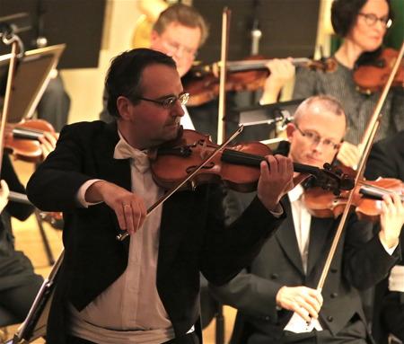 Konsertmästare Richard Lazar