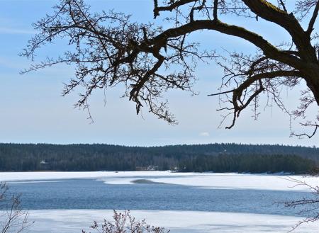 Utsikt från Bergstugan.
