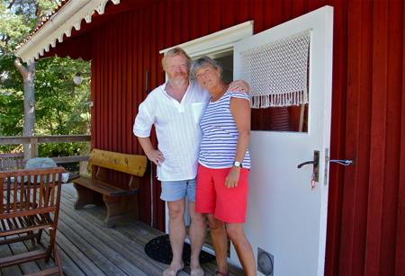 Wanjors sommargäster från Danmark har bott i toppstugan i många år.