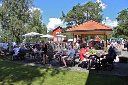 Strömsborgs uteservering