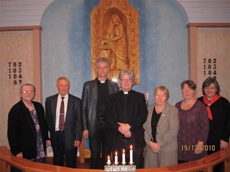 19 december 2010 - Östervallskogs nya kyrka 25 år / foto : Runar Patriksson.