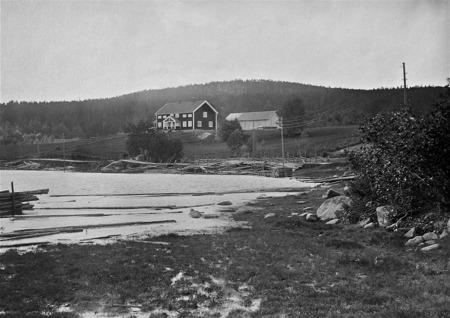 Nya prästgården i Östervallskog, färdig 1923.