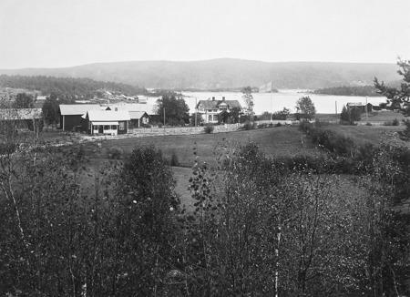 Vy över Bön i Östervallskog.