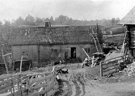 Kvarnen i Rommenäs Östervallskog.