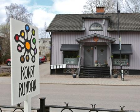 Lila Huset på Storgatan i Årjäng.