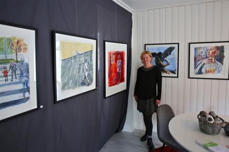 Jenny Willman -bild, akryl