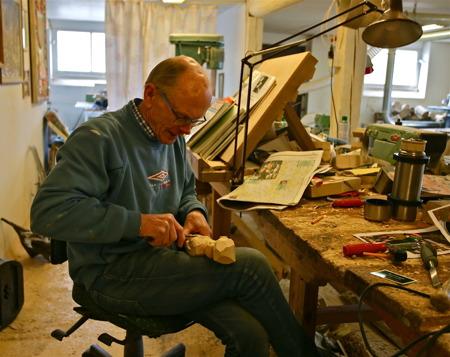 Leif Andersson - träsnideri