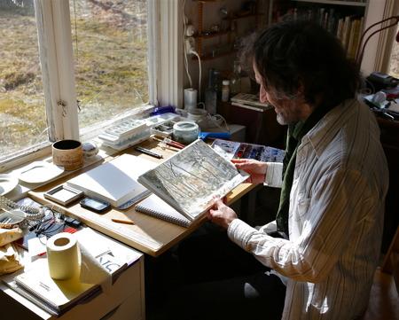 Mattias Rossipal - akvarell, grafik, målningar