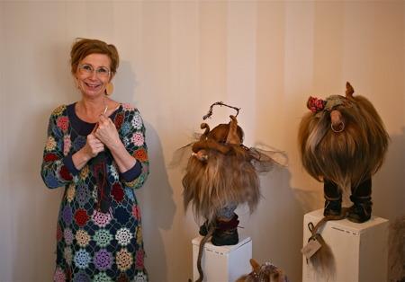 Karin Damberg - textil, blandteknik, troll