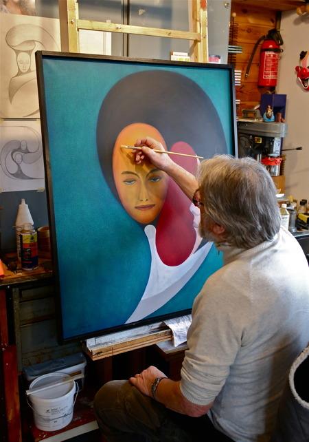 Knut Jansson - bild, målningar