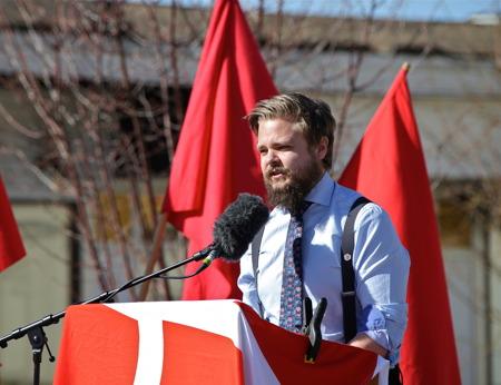 Anton Levein, politisk samordnare.