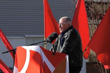 Nils-Erik Thorell informerade om kommande kyrkoval och uppmanade alla att gå och rösta.