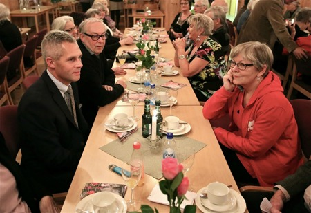 Kjell-Arne Ottosson och Angelica Rage.