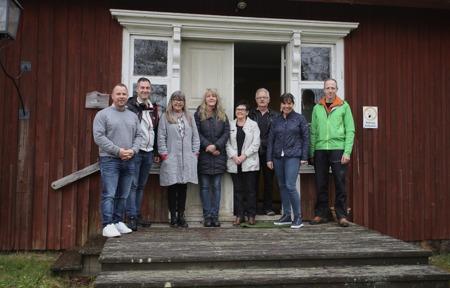 17 maj 2017 - Uppstartsmöte inför renoveringen av Tingshuset.