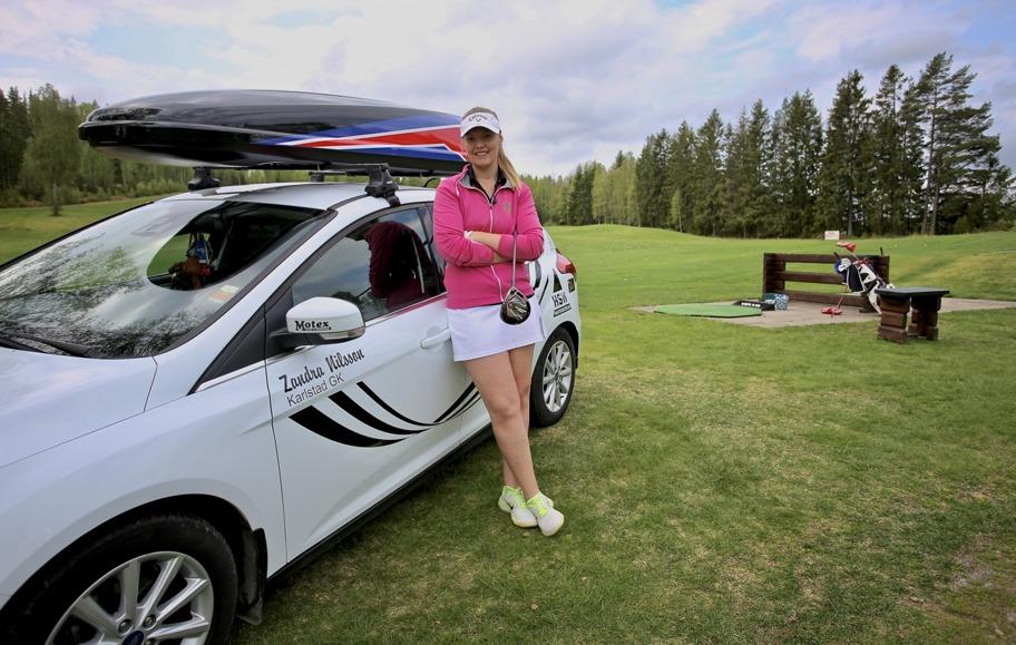 20 maj 2017 - Golfens dag på Årjängs Golfklubb, med Zandra Nilsson på plats för att instruera.