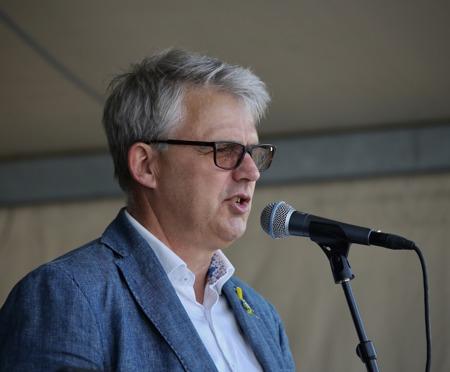 Owe Lindström organiserade firandet.