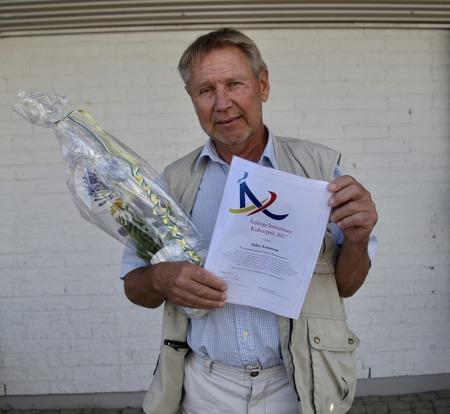 Sölve Aronsson tilldelades Årjängs kommuns Kulturpris 2017.