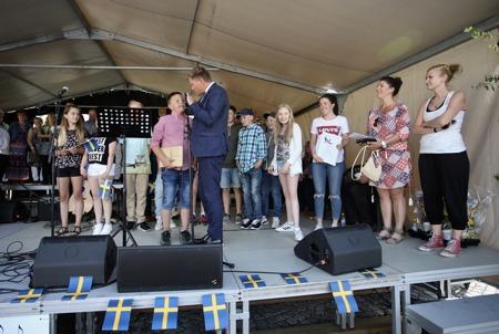 Clarapriset gick till klass fem i Svensbyns skola.