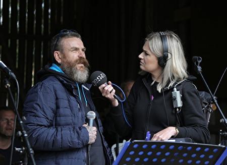 Benny Hansen från Norge intervjuades.