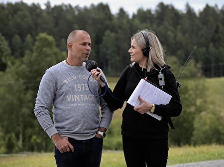 Stig Lindell intervjuades.