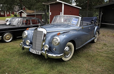 Mercedes 300 B cab 1955