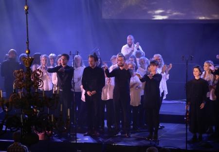 Orkestern hyllades
