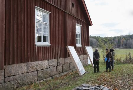 23 oktober 2017 - Slutbesiktning efter renoveringen av Långelanda tingshus.