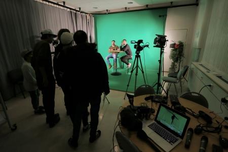 Program med inriktning Medier, information och kommunikation.